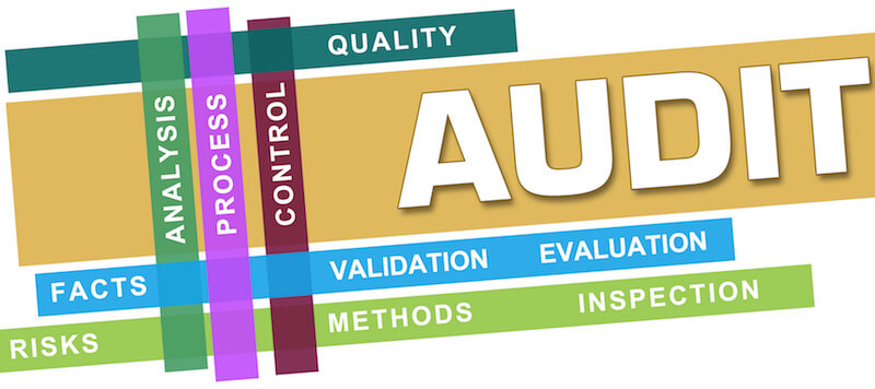 Word Graphic to display Audit Preparations.