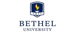 Bethel University logo.