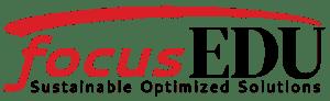 focusEDU - sustainable optimized solutions - logo